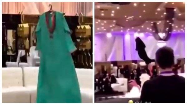 Bộ váy lơ lửng như ma nhập