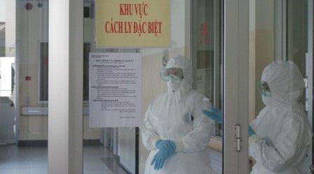 Bệnh nhân nhiễm cúm A được cách ly đặc biệt (ảnh: Vân Sơn)
