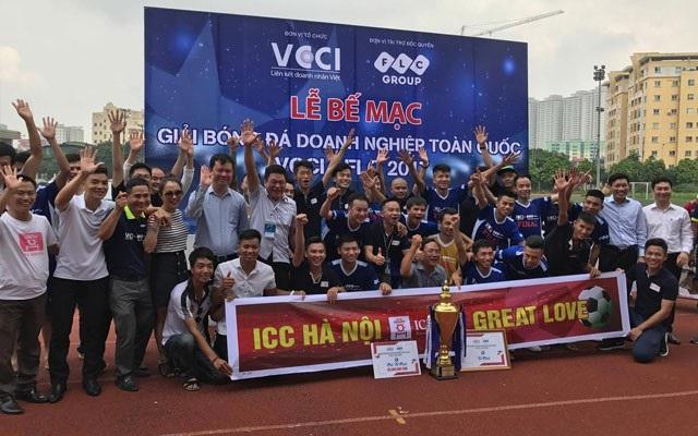 ICC Hà Nội là ĐKVĐ của VCCI Cup