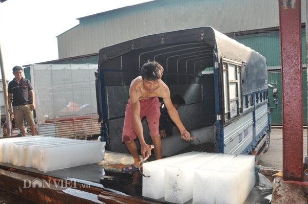 Công nhân làm đá tại cơ sở sản xuất đá cây Cường Ngân ở Lục Ngạn có thu nhập trên dưới 300.000 đồng/ngày, tùy thời điểm.
