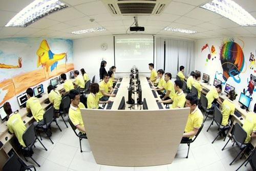 Không gian học tập đậm chất Công nghệ và Nghệ thuật, với đầy đủ trang thiết bị đạt chuẩn quốc tế tại Arena Multimedia.