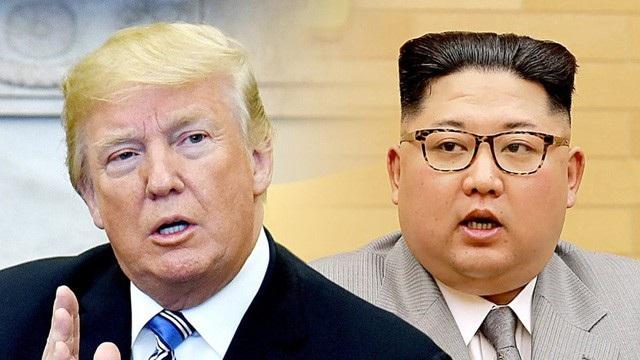 Tổng thống Donald Trump và nhà lãnh đạo Kim Jong-un (Ảnh: AFP)