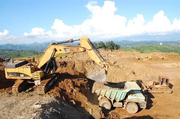 Khai thác khoáng sản ở tỉnh Lào Cai.