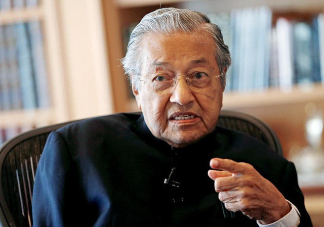 Thủ tướng Malaysia Mahathir Mohamad. (Ảnh: Todayonline)