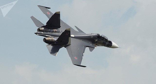 Máy bay Su-30SM của Nga (Ảnh: Sputnik)