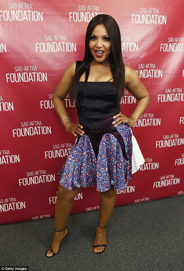 Diva Toni Braxton dự công chiếu phim Faith Under Fire tại Mỹ
