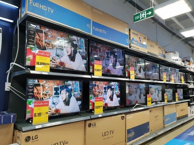 TV 43 inch trở lên được ưu chuộng ở Việt Nam