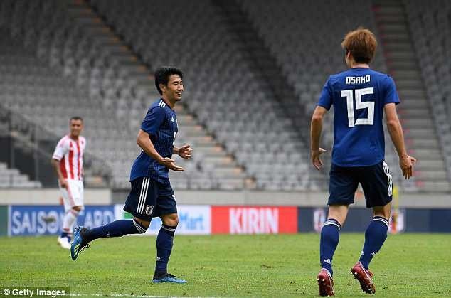 Kagawa đặt dấu giày trong 3/4 bàn thắng của Nhật Bản