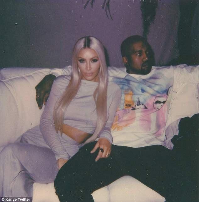 Hình ảnh hạnh phúc của đôi vợ chồng Kim - Kanye xóa tan tin đồn hôn nhân rạn nứt.