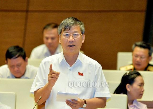 Đại biểu Quốc hội Nguyễn Anh Trí cho ý kiến xây dựng Luật Phòng, chống tham nhũng sửa đổi