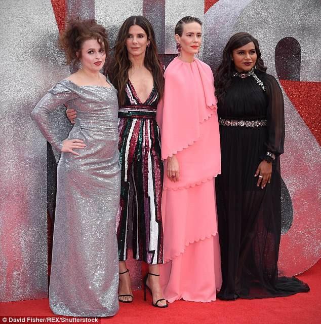 4 nữ diễn viên chính của phim được khán giả chờ đợi Oceans 8