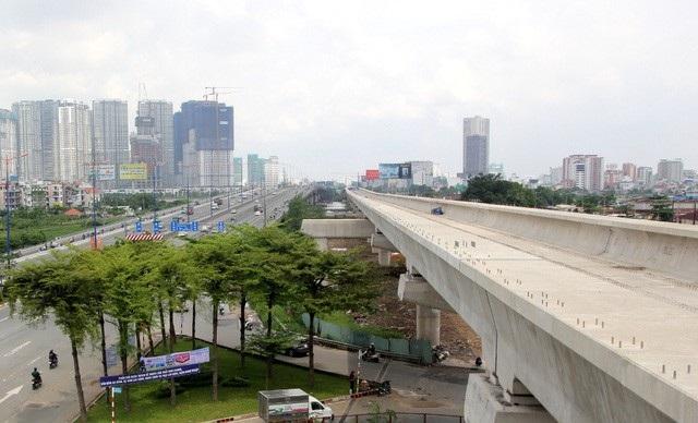 Tuyến metro đầu tiên của TPHCM (Bến Thành - Suối Tiên) dự kiến hoàn thành vào năm 2020