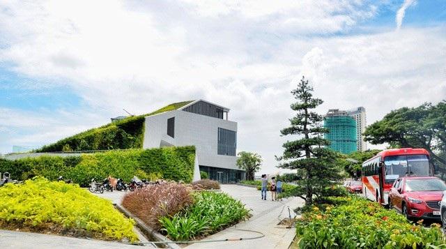Công trình dự án nhà hàng - bến du thuyền do Vũ nhôm làm chủ đầu tư ở Đà Nẵng