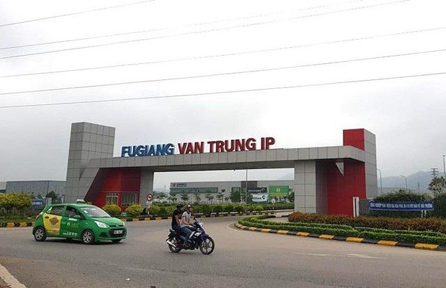 Khu công nghiệp Vân Trung tại tỉnh Bắc Giang.