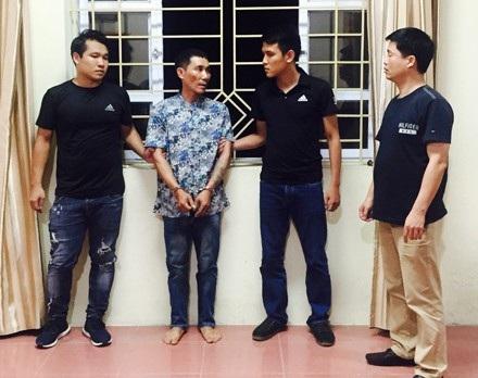 Nguyễn Tiến Thành bị bắt giữ khi đang lẩn trốn tại một nhà nghỉ ở huyện Phong Thổ, tỉnh Lai Châu.