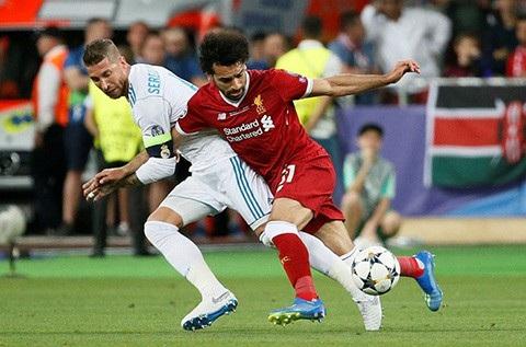Ramos khiến Salah suýt nữa tan mộng dự World Cup 2018