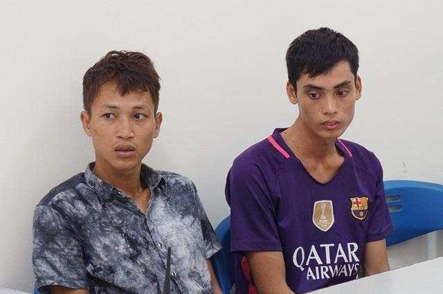 Phạm Đình Luận và Nguyễn Hữu Thu bị Công an Nghệ An bắt giữ hồi tháng 9/2017