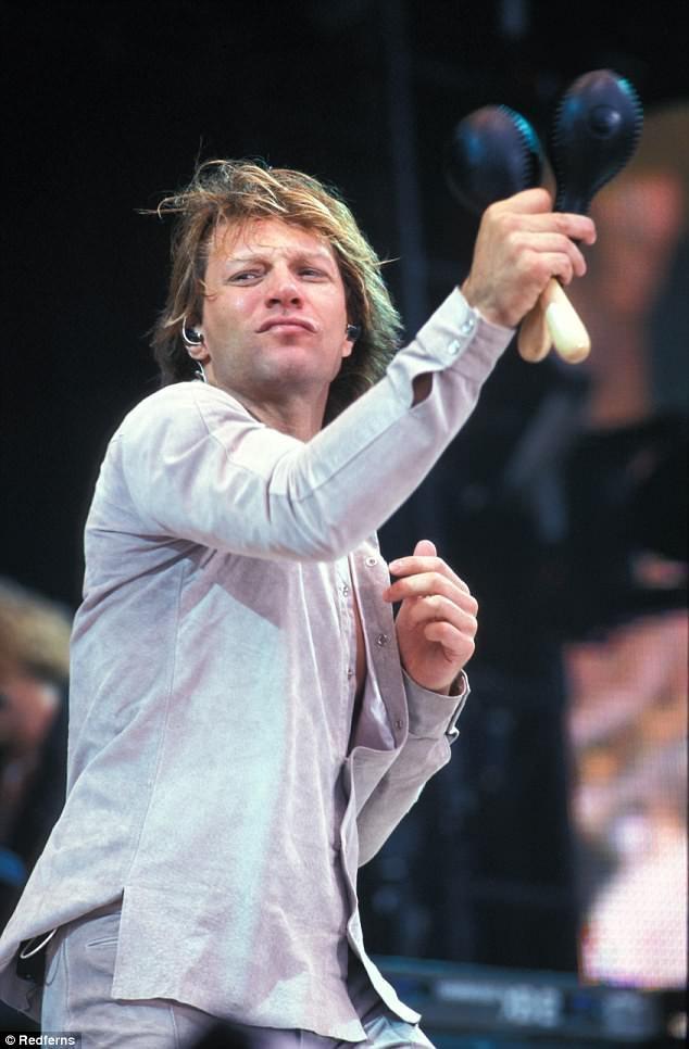 Jon Bon Jovi hồi năm 2000.