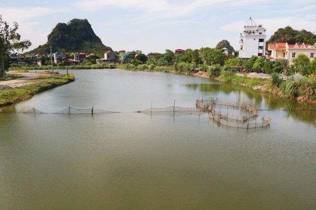 Dự án nạo vét sông Sào Khê đội vốn 36 lần nhưng thi công 17 năm chưa xong (Ảnh: Thái Bá).