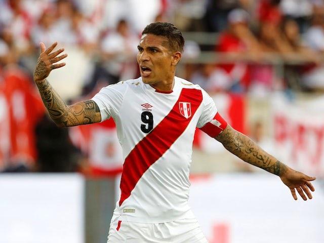 Guerrero vẫn là thủ lĩnh của Peru