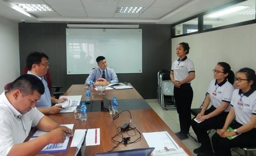 Một công ty Nhật trực tiếp phỏng vấn thực tập sinh tại Công ty TNHH Esuhai