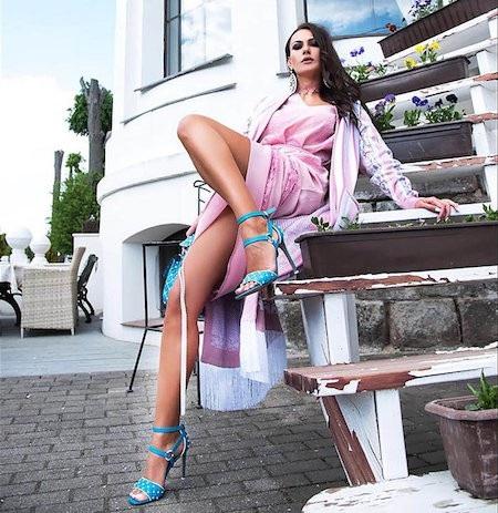 Inna Zhirkova chính là bông hồng cuốn hút nhất của tuyển Nga