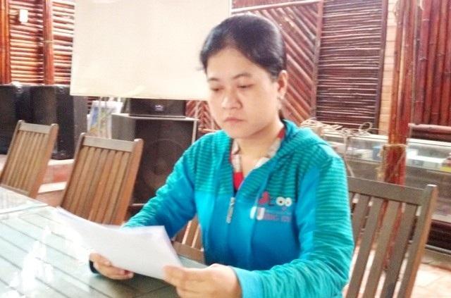Bà Lê Thị Thùy Linh khởi kiện Phòng Kinh tế TP Cà Mau đã chấm dứt hợp đồng lao động đối với bà.