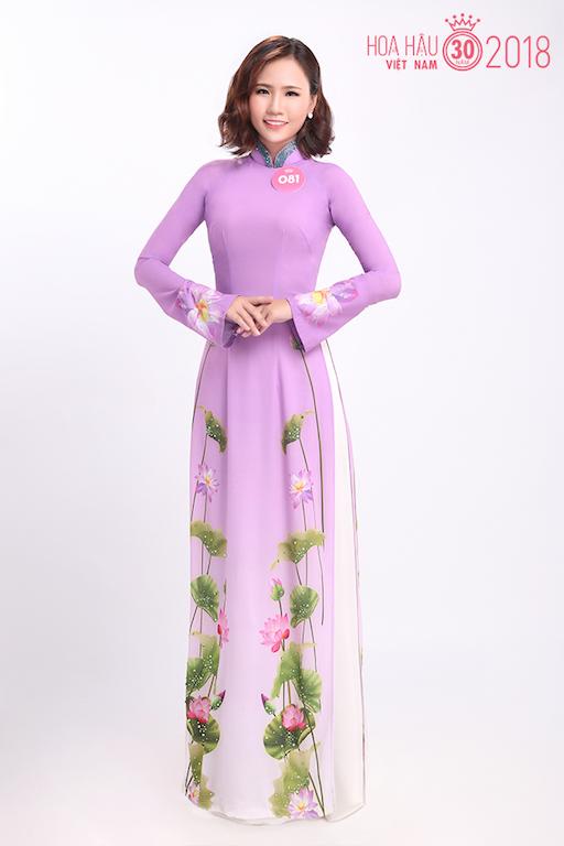30 người đẹp Hoa hậu Việt Nam 2018 khoe nét thanh xuân trong tà áo dài - 7