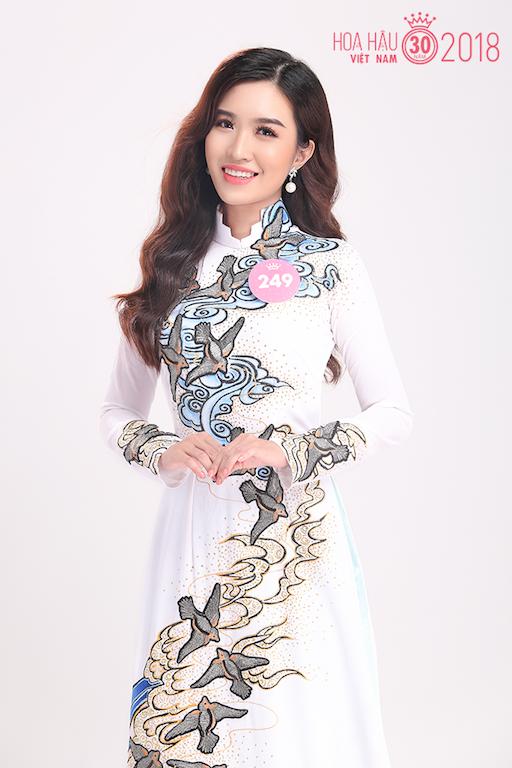 30 người đẹp Hoa hậu Việt Nam 2018 khoe nét thanh xuân trong tà áo dài - 10