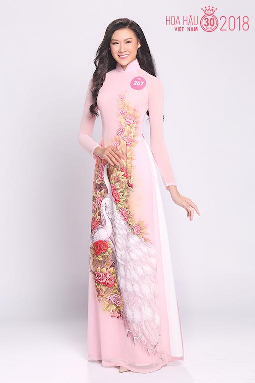 30 người đẹp Hoa hậu Việt Nam 2018 khoe nét thanh xuân trong tà áo dài - 9