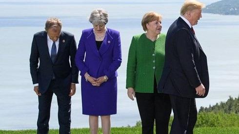 Hội nghị Thượng đỉnh G7 vừa qua ở Canada đã chứng kiến sự chia rẽ sâu sắc giữa Mỹ và phần còn lại. Ảnh: Getty.