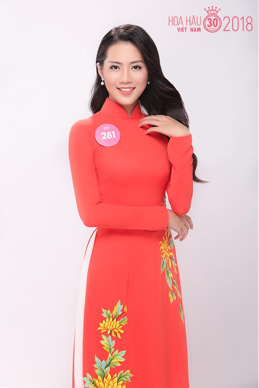 30 người đẹp Hoa hậu Việt Nam 2018 khoe nét thanh xuân trong tà áo dài - 2