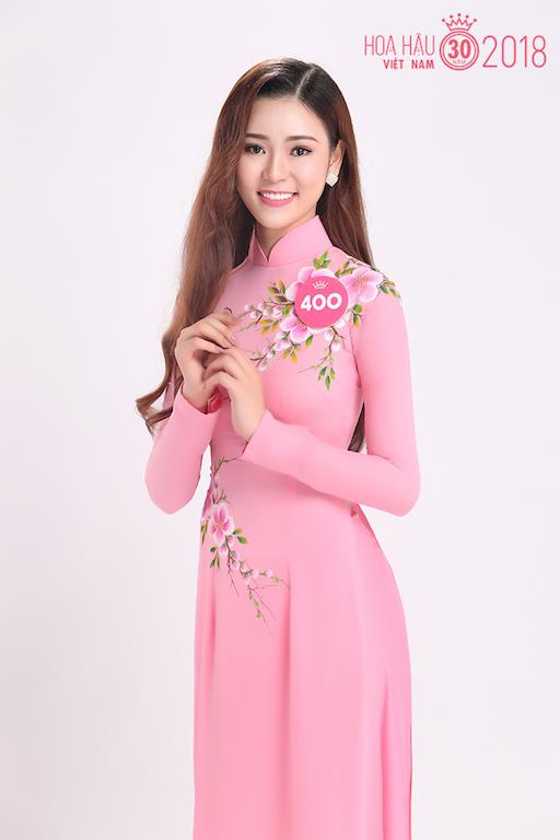 30 người đẹp Hoa hậu Việt Nam 2018 khoe nét thanh xuân trong tà áo dài - 1