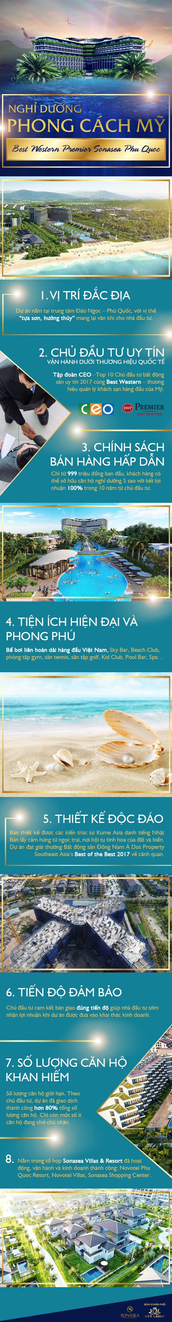 Best Western Premier Sonasea Phu Quoc: Nghỉ dưỡng phong cách Mỹ - 1