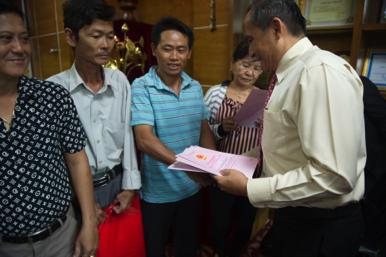 Phúc Khang trao sổ đỏ cho khách hàng dự án Phước An - Nhơn Trạch – Đồng Nai - 2