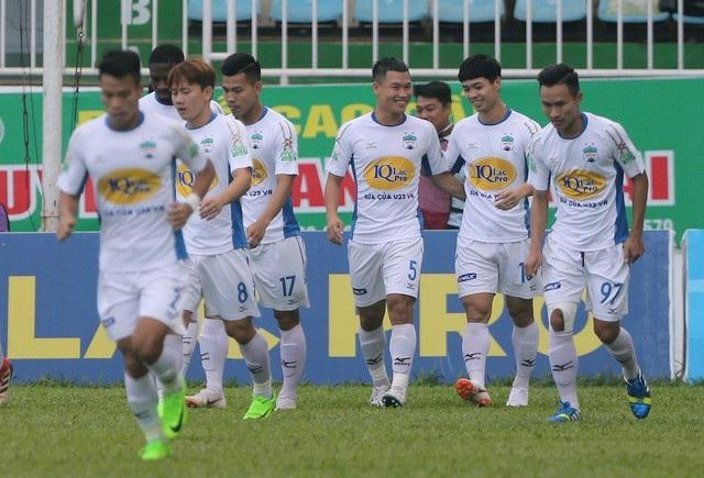 HA Gia Lai đã thua 3 trận liên tục ở V-League
