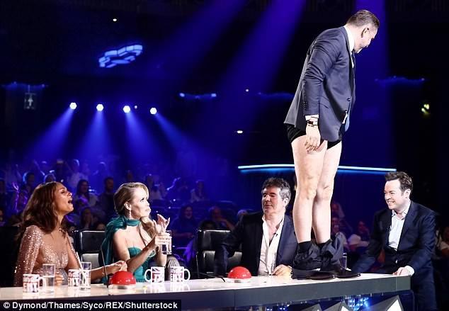 Pha hài hước của giám khảo Britains Got Talent mới đây