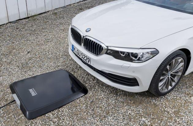 BMW giới thiệu hệ thống sạc không dây mới cho xe chạy điện - 1