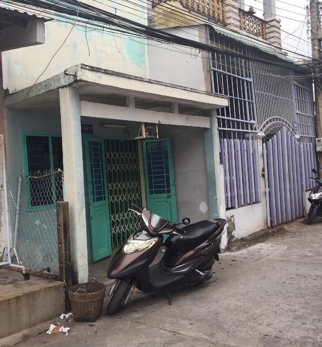 Căn nhà của cha mẹ ông Mai Hữu Hiệu để lại.