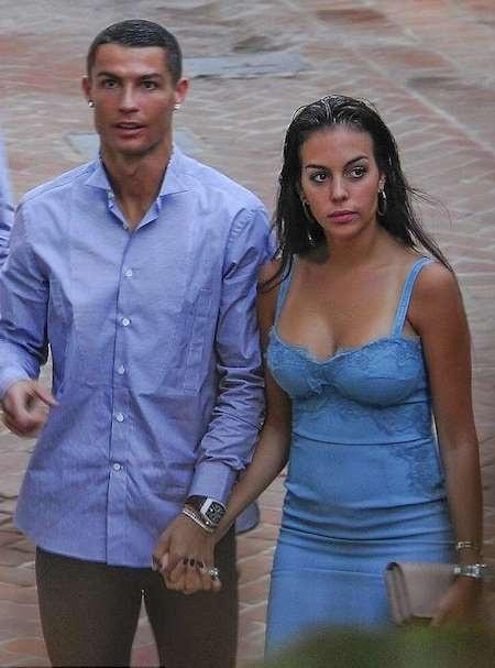 C.Ronaldo và Georgina Rodriguez trông rất đẹp đôi