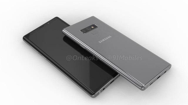 Một bản dựng của Galaxy Note 9.
