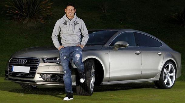 Ngoài R8, tiền vệ người Colombia còn sở hữu một số xe khác cũng mang thương hiệu Audi, do đây là hãng tài trợ xe cho câu lạc bộ Real Madrid.
