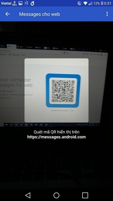 Người dùng smartphone Android nhận và gửi tin nhắn trực tiếp từ máy tính - 4