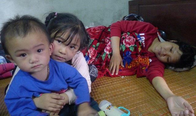 Suốt 2 năm dài chiến đấu, chị Hảo nhìn 2 con để cố gắng, vượt qua từng ngày.