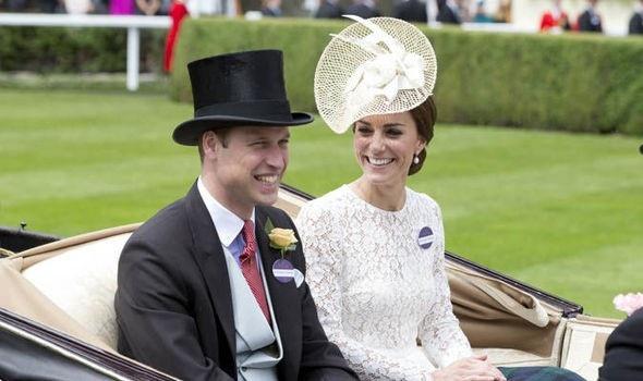Công nương Kate Middleton và chồng
