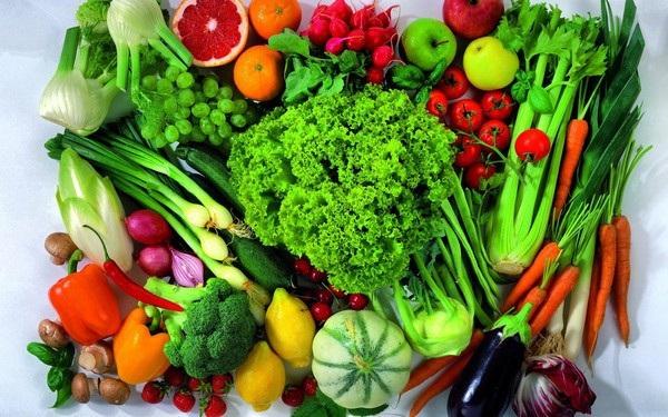 Nhiều loại trái cây, rau xanh có tác dụng tốt trong phòng bệnh ung thư