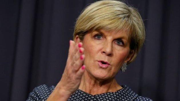 Ngoại trưởng Australia Julie Bishop đã lên tiếng về sự ảnh hưởng của Trung Quốc trong khu vực (Ảnh: Fairfax)