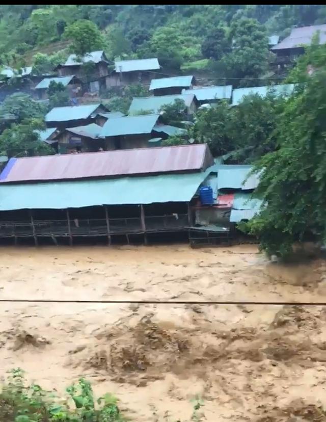 Mưa lũ kinh hoàng tại tỉnh Lai Châu