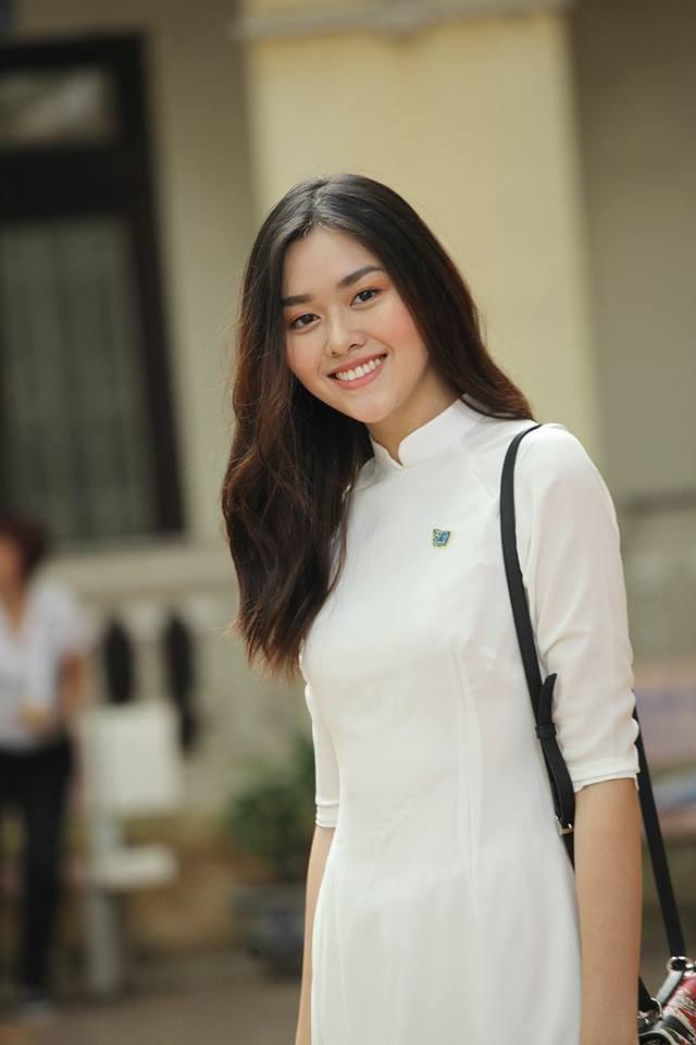 Á hậu Miss World Việt Nam từng là hot girl trường Phan Đình Phùng - 5