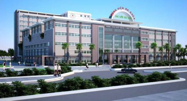Phối cảnh Bệnh viện đa khoa Bạc Liêu - Sài Gòn được xây dựng tại tỉnh Bạc Liêu.